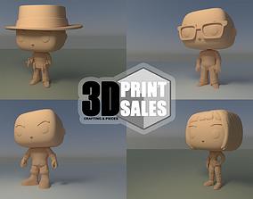 4x3 Promo Pack 1 - Custom Pop 3D Printable Models