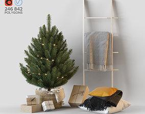 3D model other Christmas decorative set