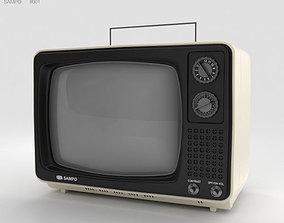 Sampo TV B-1201BW 3D model