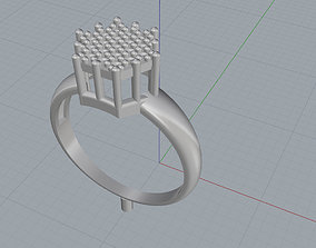 ring polygonal 3D print model