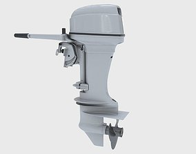 3D Outboard 40HP