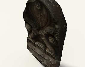 Dark Greek Monument 3D asset