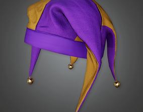 3D asset HAT - Jester Hat - PBR Game Ready