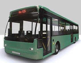 City Bus 3D asset