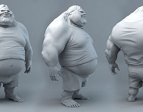 Fat Dude Jack 3D printable model sculptures