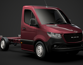 3D RAM Sprinter Chassis Single Cab L1 FWD 2019