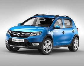 3D model Dacia Sandero Stepway 2013