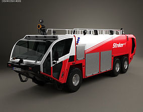 Oshkosh Striker 3000 Fire Truck 2010 3D model