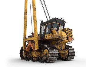 Komatsu D 355 C 3 Dirt 3D