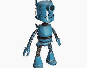 black 3D model Robot