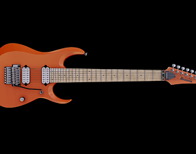 Ibanez RGD3127 - 7 strings guitar 3D asset