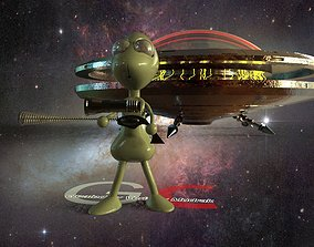 extraterrestrial Alien 3D model