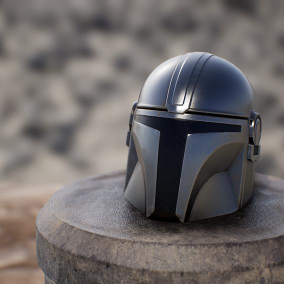 Mandalorian Helm