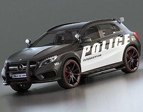 Mercedes Benz Highway Patrol 3D model