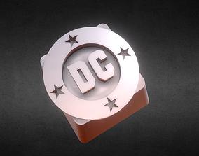 dcbulletlogo 3D printable model DC Bullet Keycap