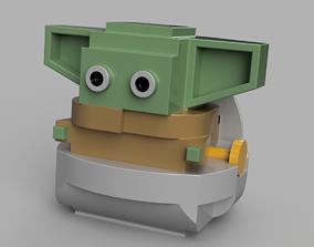 Baby Yoda or Keychain 3D print model
