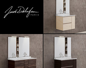 3D model washbasin jacob delafon SOPRANO