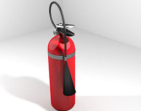 3D Fire Extinguisher - Type 1