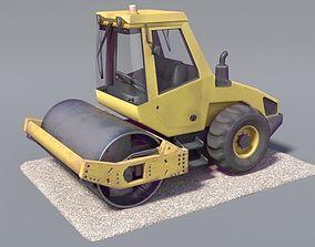 3D asset Steamroller old version
