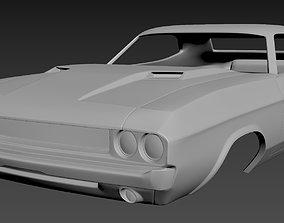 3D print model Dodge Challenger 1970