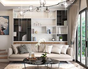 House livingroom modern 3D