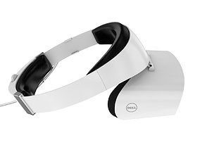 3D The Dell Visor Windows Mixed Reality Headset