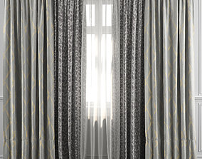 Curtain Set 38 3D