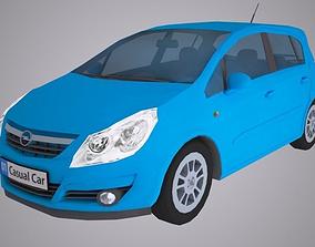Opel Corsa Car 3D asset