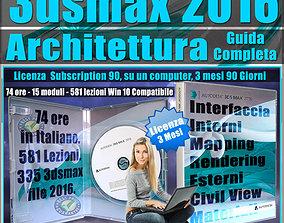 Corso 3ds max 2016 Architettura Guida Completa 3 mesi