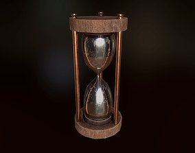 3D model low-poly Hourglass