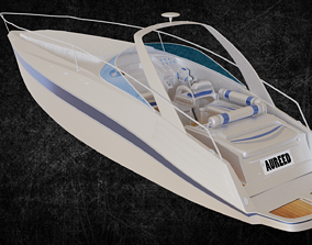 3D Small Yacht