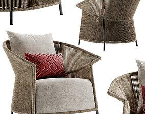 Potocco Ola armchair 3D model