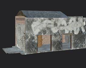Huse Building dojo 3D asset