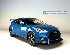 Hyundai Veloster GT 3D model