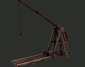 3D asset Trebuchet