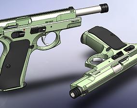 CZ-85 Combat 3D model