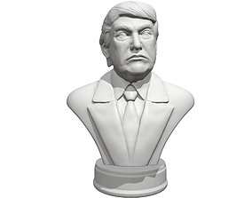 3D printable model Donald Trump presidental edition