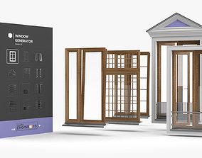 Window Generator 3D model
