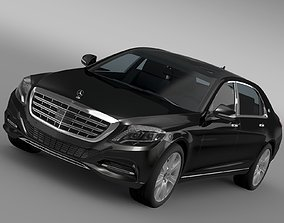Mercedes Maybach Guard S600 X222 2016 3D