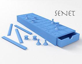 3D print model Senet Ancient Egyptian Board