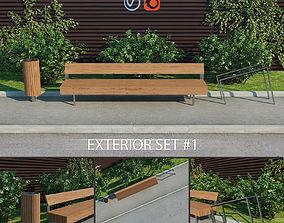 3D Exterior set 1 - Woody LWD150 - Nanuk NNK110 - Edgetyre