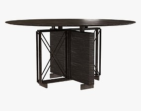 3D Holly Hunt MONACO DINING TABLE