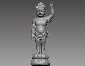 3D printable model baby buddha