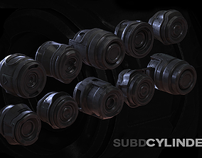 10 Cylinders SUBD 3D
