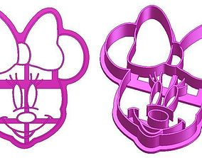 3D printable model Minnie Mouse Cookie Cutter