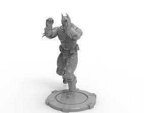 Batman - Knee Jabs To Uppercut 3D printable model