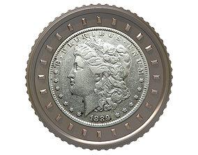 Digital Currency Coin - 600 BTC 3D models