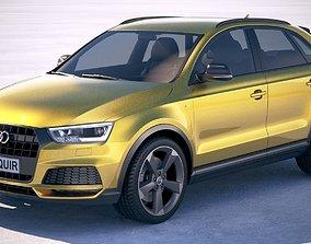 Audi Q3 2018 S-line 3D model