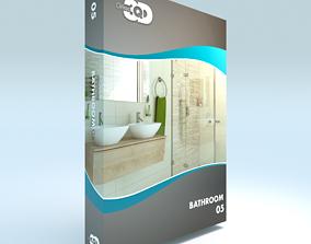 3D asset Bathroom 05