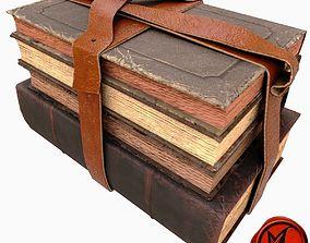 Books A 3D asset